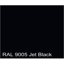 Забарвлене скло Чорний RAL 9005, 3210*2250\\2550*1605 мм, 4 мм