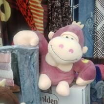 """Дитячий плед  покривало іграшка """"Мавпочки"""""""