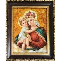 Ікона Єрусалимської Божої Матері 15х20 см без скла
