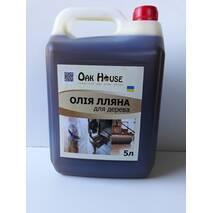 Масло льняное для дерева, 5 л купить в Тернополе