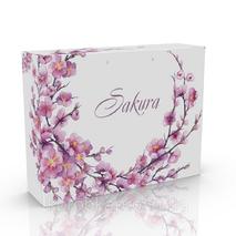 Упаковка пакет из гофры 355х90х275 мм., Sakura