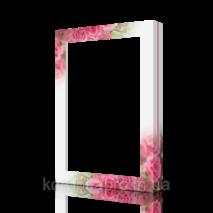 Картонная коробка с розами (40-1), 320х225х40 мм