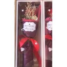 Букет-подарунок з милом у вигляді троянди