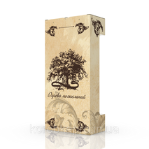 Упаковка тубус гофра 175х90х355 мм, Дерево пожеланий