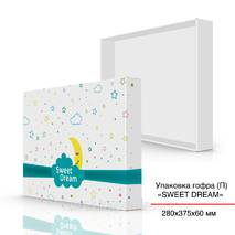 Упаковка гофра (П), 280х375х60 мм, Sweet Dream
