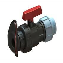 Кран шаровый LFT Затискний (діаметр 32 мм)