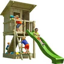 Дитячий ігровий майданчик Blue Rabbit BEACH HUT Зелений
