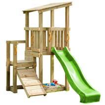 Дитячий ігровий майданчик Blue Rabbit Cascade з 2 гірками Зелений