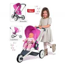 Коляска для ляльок Smoby Maxi Cosi Quinny триколісна Рожева (255097)