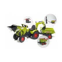 Дитячий трактор на педалях Falk 1010wh Claas Axos