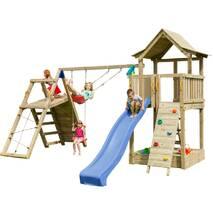 Детская игровая площадка Blue Rabbit PAGODA + CHALLENGER Синя