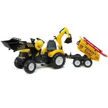 Дитячий трактор на педалях Falk 1000wh Power Loader