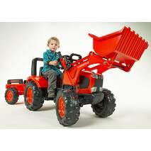 Дитячий трактор на педалях Falk 2060am KUBOTA M135GX