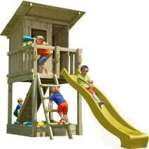 Дитячий ігровий майданчик Blue Rabbit BEACH HUT Жовта