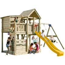 Игровая детская площадка Blue Rabbit PALAZZO + SWING Жовта