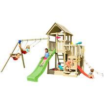 Детская игровая площадка Blue Rabbit PENTHOUSE + SWING Зелена
