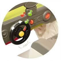 Ігровий центр Автомобіль пригод Smoby 840205 з гіркою, багажником і звуковим ефектом