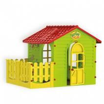 Ігровий будиночок з терасою для дітей Mochtoys 10839