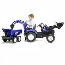Педальний трактор Falk New Holland 3090w