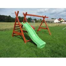 Дитячий майданчик Дружба   гірка спуск 2,5 м.