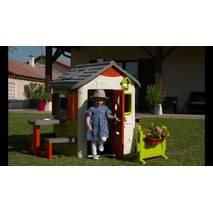Будиночок Smoby Toys лісника з віконницями з комплектацією 810500 S