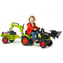 Дитячий трактор на педалях Falk 2040n CLAAS Arion 410