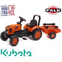 Дитячий трактор на педалях Falk 2065ab KUBOTA M7171