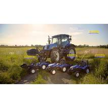 Дитячий трактор на педалях Falk 3090b