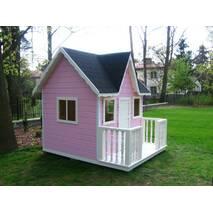Будиночок для дітей з дерева PINK - 001