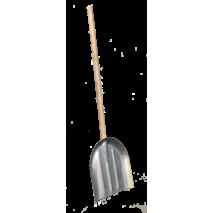 Лопата для снега и зерна из алюминия