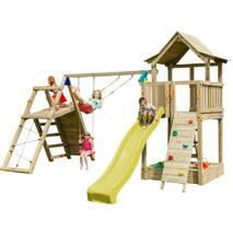 Детская игровая площадка Blue Rabbit PAGODA + CHALLENGER Жовта