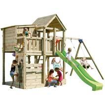 Игровая детская площадка Blue Rabbit PALAZZO + SWING Зелена