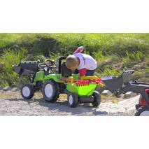 Дитячий трактор на педалях Falk 1057rm