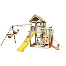 Детская игровая площадка Blue Rabbit PENTHOUSE + SWING Жовта