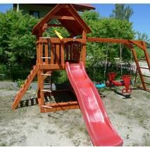 """Ігровий майданчик для дітей """"Малюк""""   гірка спуск"""