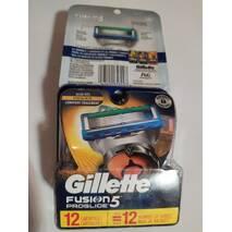 Змінні касети Gillette Fusion 5 Proglide 12 шт. США