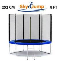 Батут SkyJump 8 фт., 252 см із захисною сіткою і лесницей