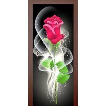 3D двері Ніжна троянда 9452, 80х200 см
