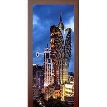 3D двері Місто 992, 80х200 см