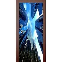 3D двери Город 993, 60х200 см