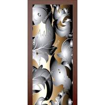 3D двері 3D візерунок 9182, 90х200 см