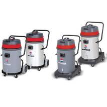 Пылесос для профессиональной уборки с опрокидывающимся корпусом (80л)