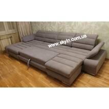 Угловой диван Маэстро с пуфиком
