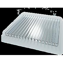Поликарбонат SOTON Эко прозрачный, 2100*6000, 4 мм