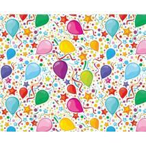 """Подарунковий папір для упаковки  """"Повітряні кульки"""", 5 шт/уп"""