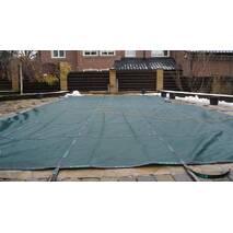 Зимнее покрытия бассейна