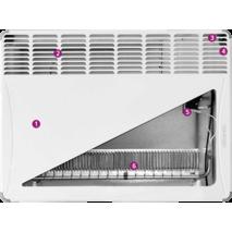 Електроконвектор Atlantic F17 Essential CMG BL-Meca/M(1500W) купити недорого