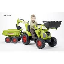 Трактор Педальний з Причепом і двома Ковшами Falk 1010w