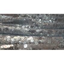 Пайетки мелкие серебряный