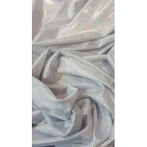 Ткань Сваровски серебряный